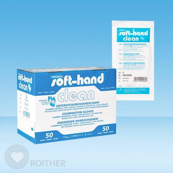 Sterile Handschuhe Größe M (50 Paar)