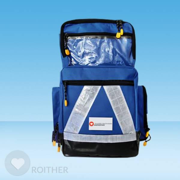 Notfallrucksack Pro Large Plane blau