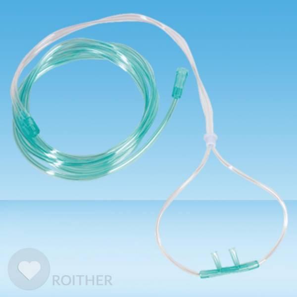 Sauerstoff-Brille ohne Abdichtkompresse