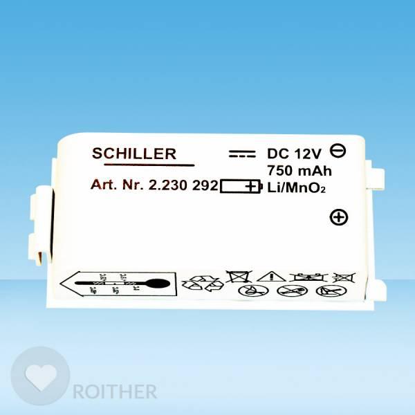 Ersatzbatterie für Schiller Defibrillator Fred Easyport