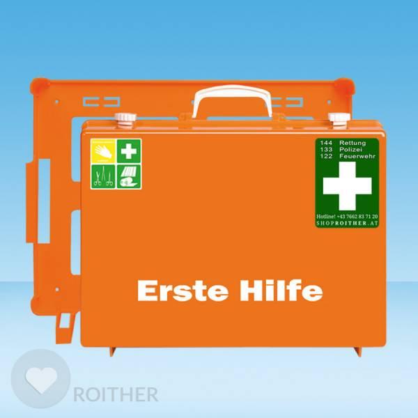 Erste Hilfe Koffer Typ 2 leer orange