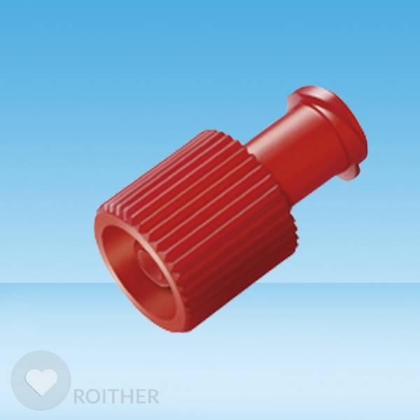 Combi-Stopper-Verschlusskonen rot einzeln