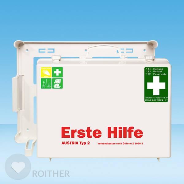 Erste Hilfe Koffer Austria Typ 2 weiß
