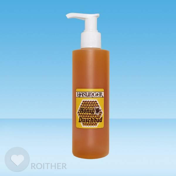 Honig Duschbad in Pumpflasche 200ml