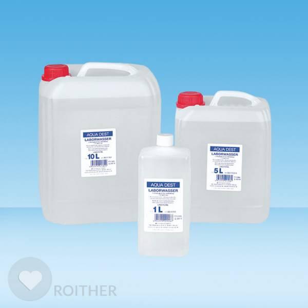 Aqua Dest-Laborwasser 5 Liter