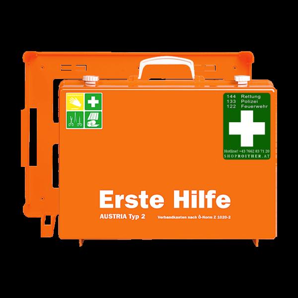 Erste Hilfe Koffer Austria Typ 2