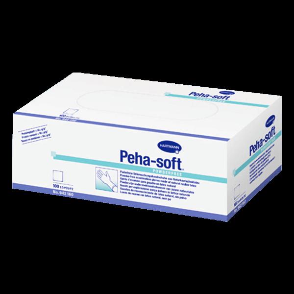 Pehasoft Handschuhe Latex puderfrei L (100 Stk.)
