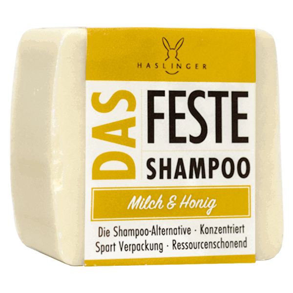 Das feste Shampoo - Milch & Honig