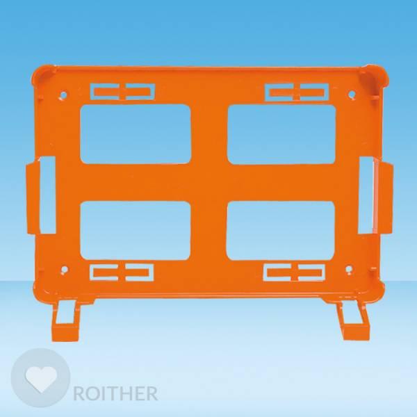 Wandhalterung Quick Koffer Söhngen orange