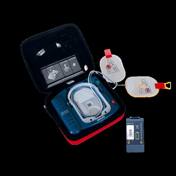 Philips HS1 Defibrillator-Set inkl. Tragetasche