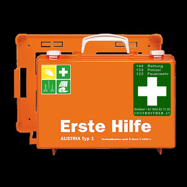 Erste Hilfe Koffer Austria Typ 1