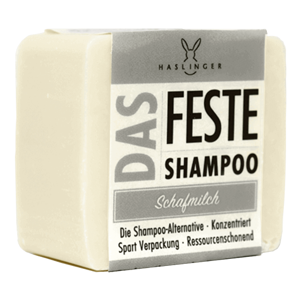 Das feste Shampoo - Schafmilch