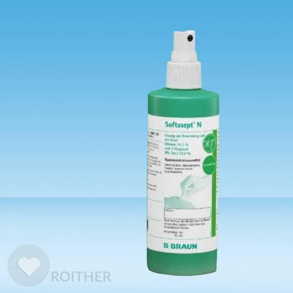 Softasept N Hautdesinfektion mit Sprühkopf 250ml
