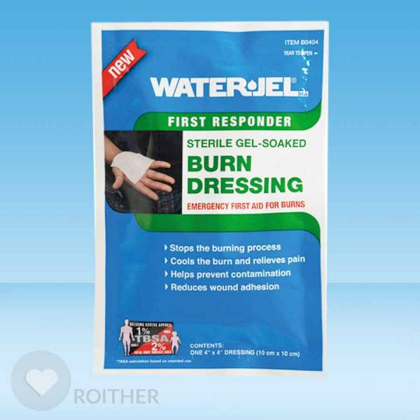 Waterjel Burn Kompresse 10x10cm steril