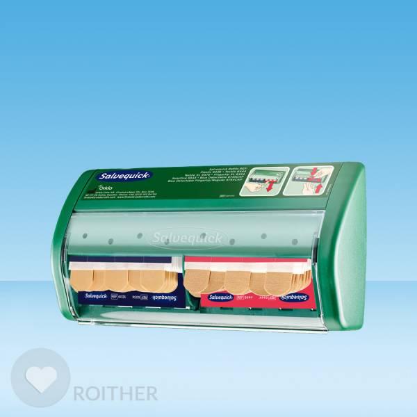 Salvequick Pflasterspender gefüllt REF490700