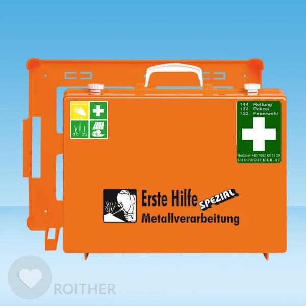 Erste Hilfe Koffer Metallverarbeitung