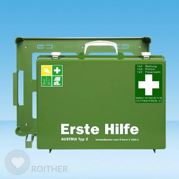 Erste Hilfe Koffer Austria Typ 2 grün
