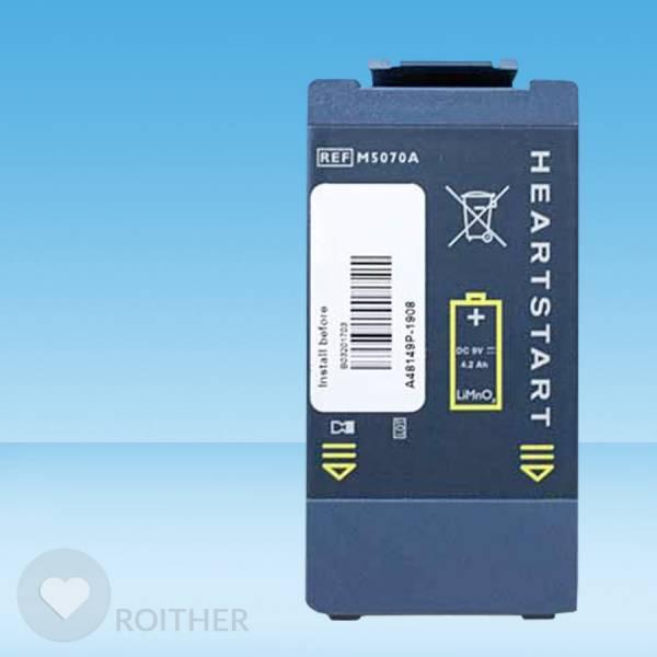 Ersatzbatterie für Philips AED HeartStart I / FRX