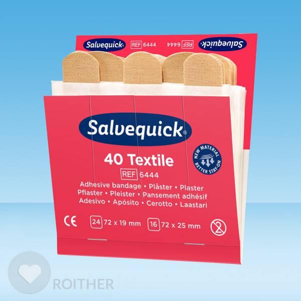 Salvequick Pflasterstrips elastisch REF6444