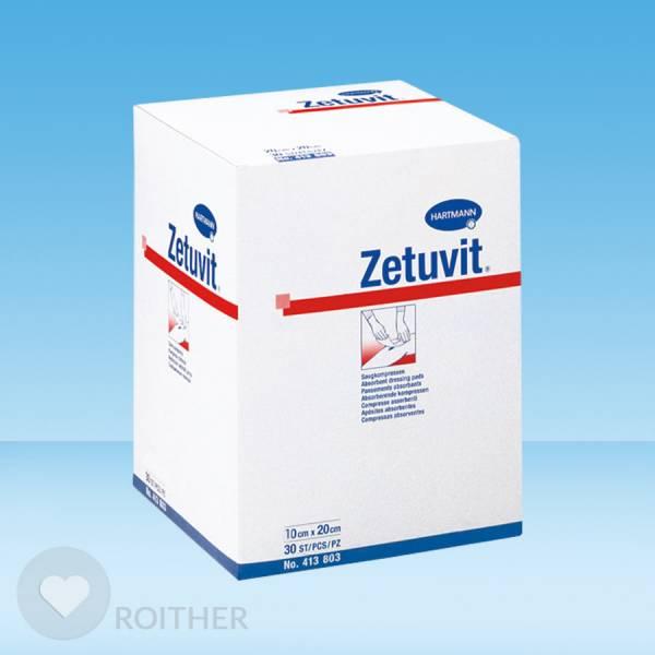 Zetuvit Saugkompresse unsteril 10x20cm (30 Stk.)