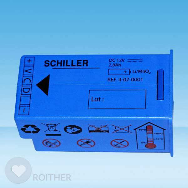 Ersatzbatterie für Schiller Defibrillator Fred Easy