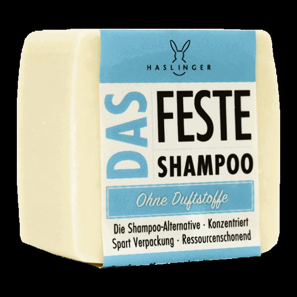 Das feste Shampoo - ohne Duftstoff